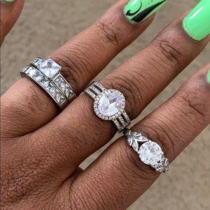 3 mock wedding rings